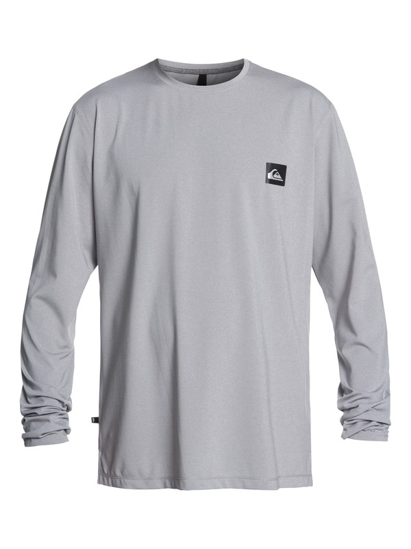 0 Salty Dog - Long Sleeve UPF 50 Surf T-Shirt for Men Grey EQYWR03148 Quiksilver