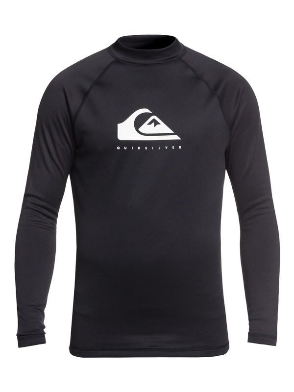0 Heater - Long Sleeve UPF 50 Rash Vest for Men Black EQYWR03156 Quiksilver