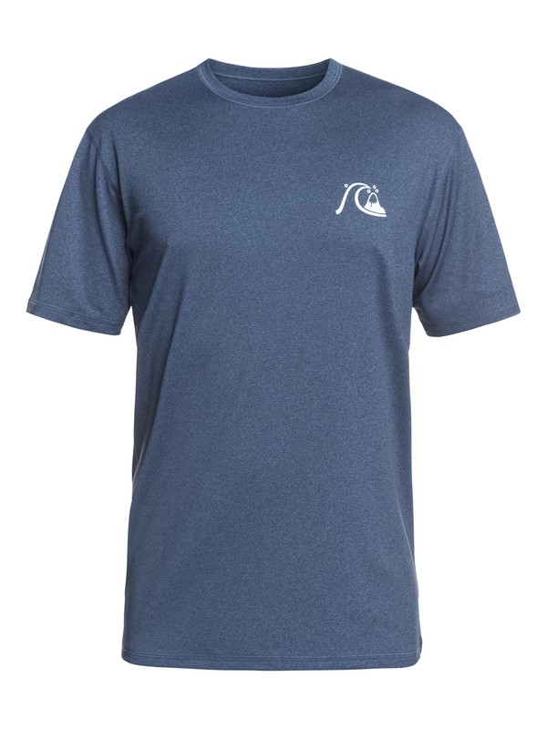 0 El Capitan - Short Sleeve UPF 50 Surf T-Shirt for Men Blue EQYWR03158 Quiksilver