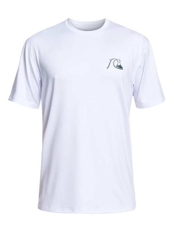 0 El Capitan - Camiseta de Surf de Manga Corta con Protección Solar UPF 50 para Hombre Blanco EQYWR03158 Quiksilver