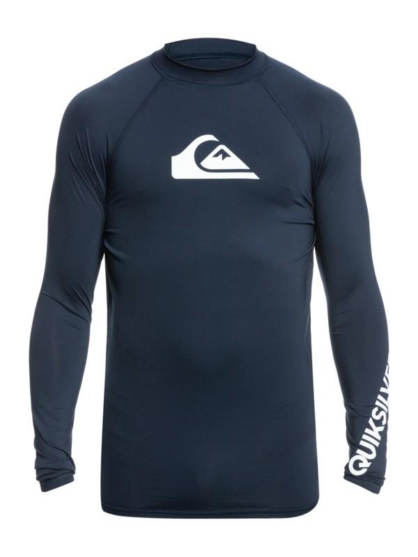 All Time - Long Sleeve UPF 50 Rash Vest for Men  EQYWR03240