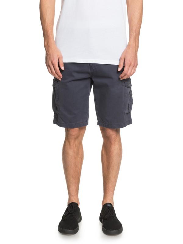0 Crucial Battle - Cargo Shorts for Men Blue EQYWS03456 Quiksilver