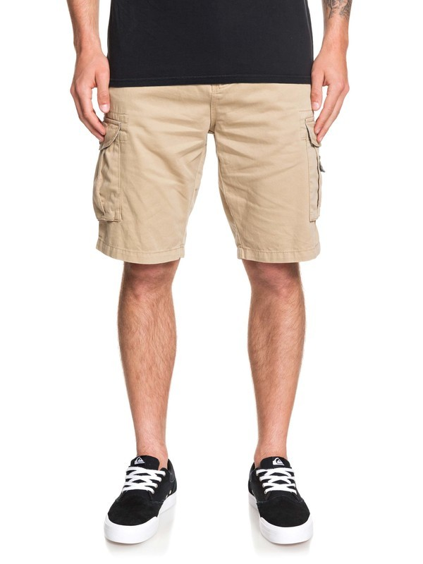 0 Crucial Battle Cargo Shorts Brown EQYWS03456 Quiksilver
