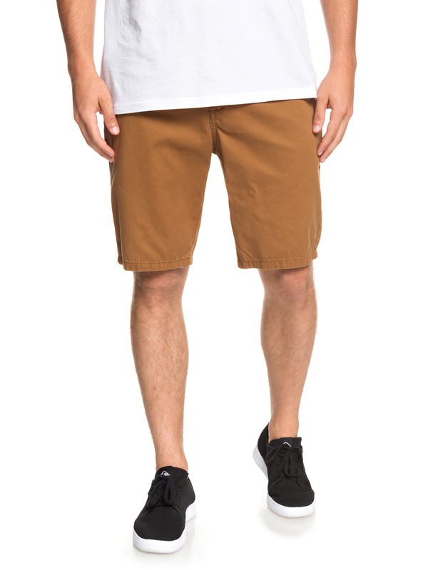 0 Everyday - Chino Shorts for Men Brown EQYWS03468 Quiksilver
