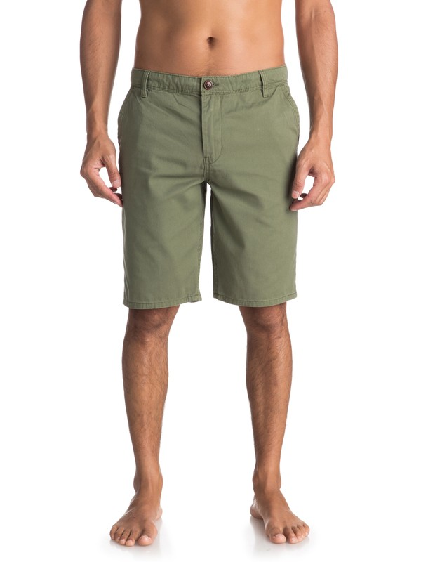0 Everyday Chino Shorts Green EQYWS03468 Quiksilver