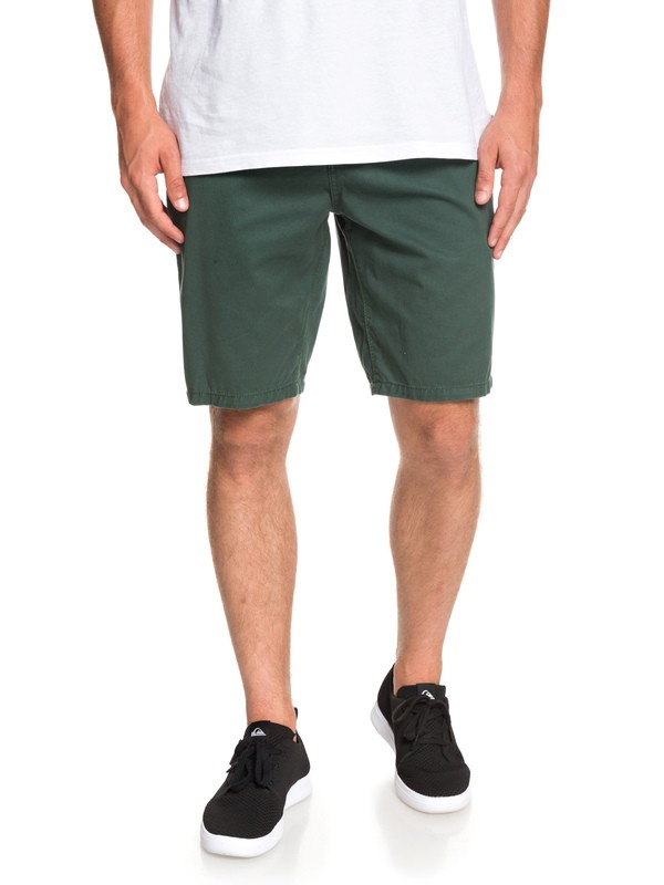 0 Everyday - Short Chino para Hombre Verde EQYWS03468 Quiksilver