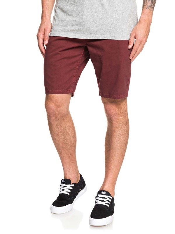 0 Everyday Chino Shorts Red EQYWS03468 Quiksilver