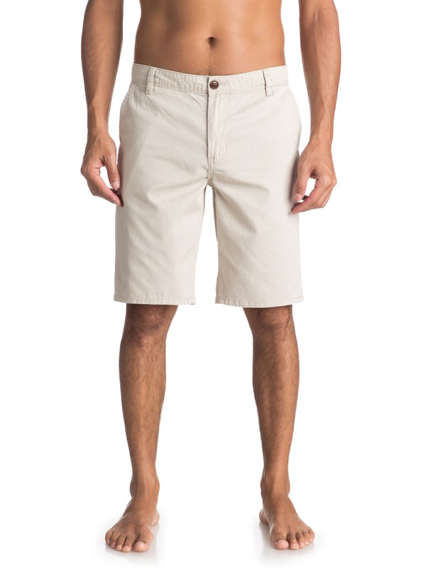0 Everyday Chino Shorts Beige EQYWS03468 Quiksilver