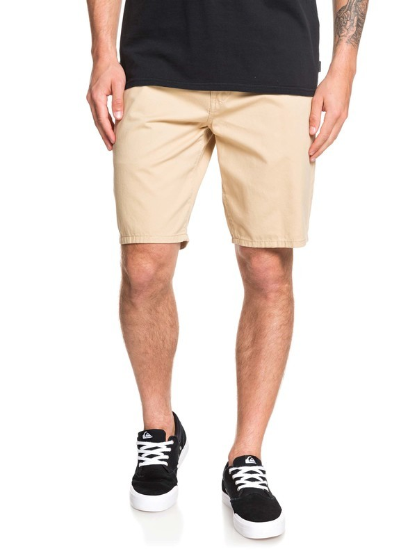 0 Everyday - Short Chino para Hombre Beige EQYWS03468 Quiksilver