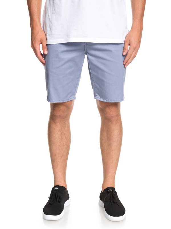 0 New Union Stretch Chino Shorts Blue EQYWS03469 Quiksilver