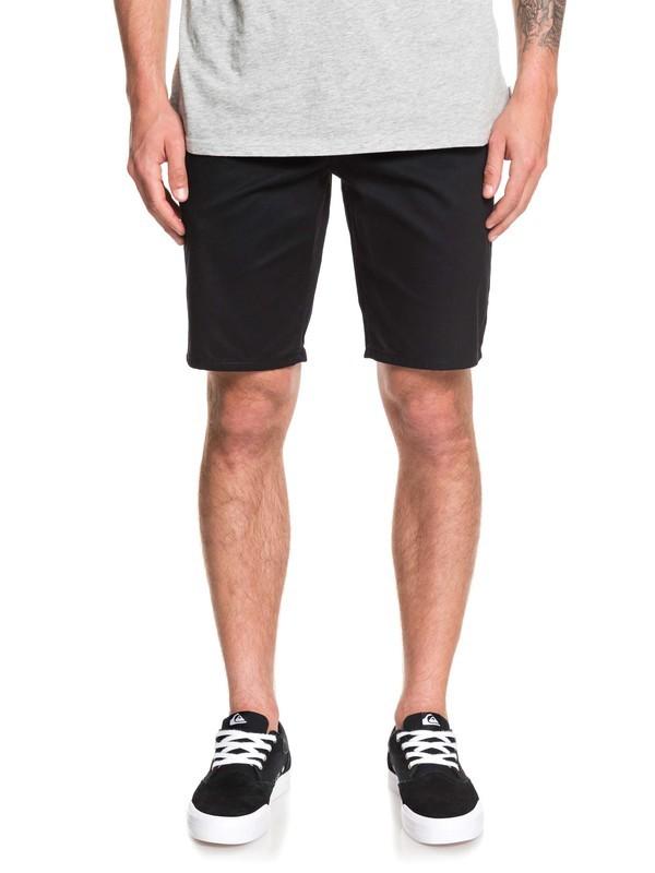 0 Shorts Tipo Chinos - Elásticos New Union Negro EQYWS03469 Quiksilver
