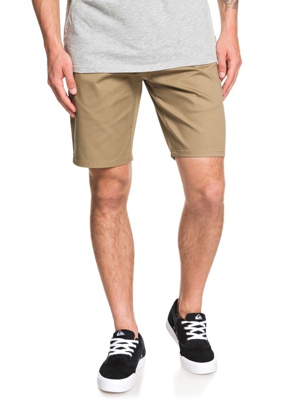 0 New Union Stretch Chino Shorts Beige EQYWS03469 Quiksilver