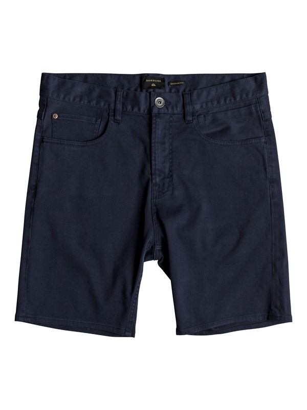 "0 Dawn To Dust 18"" Shorts Blue EQYWS03472 Quiksilver"