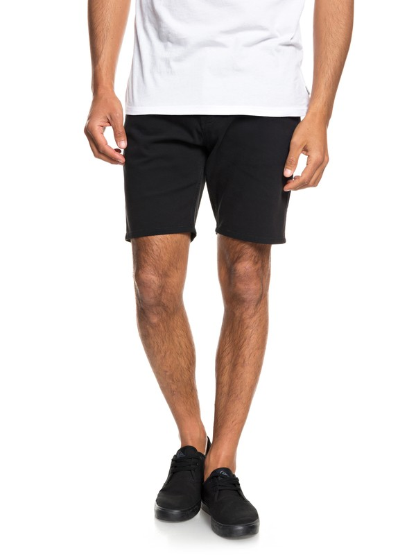 "0 Dawn To Dust 18"" Shorts Black EQYWS03472 Quiksilver"
