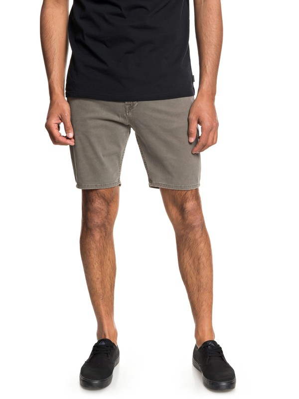 "0 Dawn To Dust 18"" Shorts Grey EQYWS03472 Quiksilver"