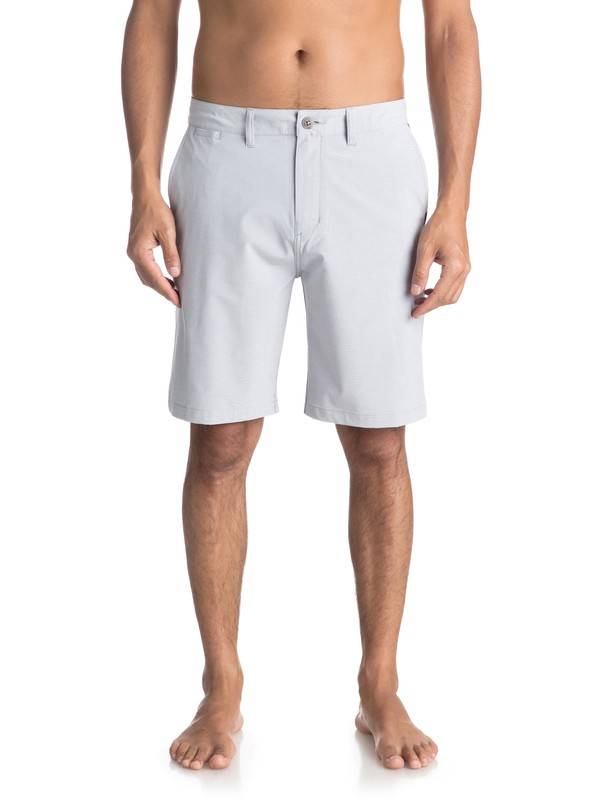 "0 Shorts Amphibian Heather Union de 20"" Gris EQYWS03488 Quiksilver"