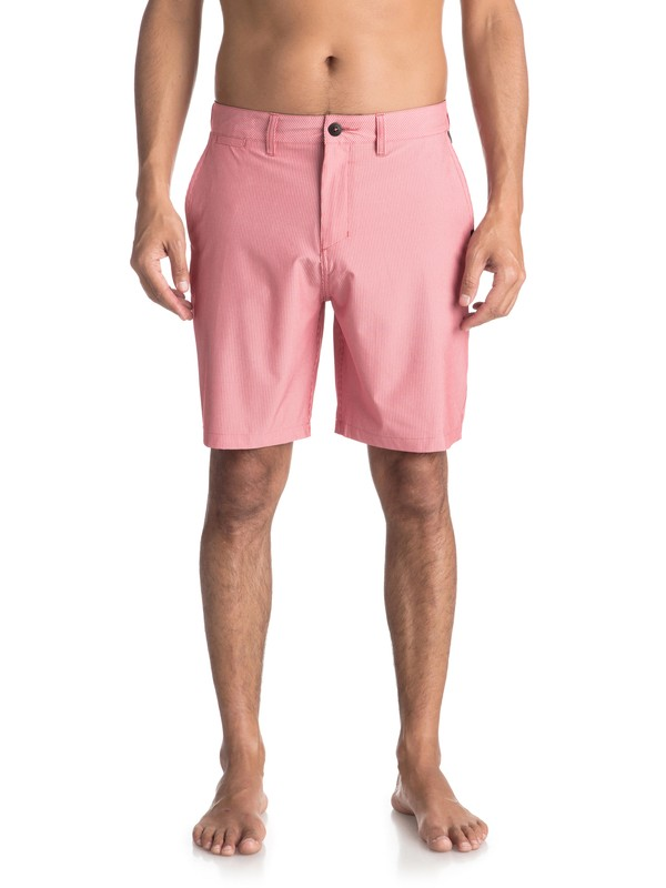 "0 Union Pinstripe 19"" - Board Shorts Anfibio para Hombre Rosa EQYWS03490 Quiksilver"