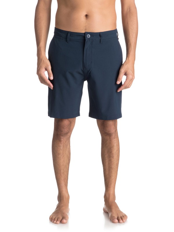 "0 Union 19"" - Amphibian Board Shorts for Men Blue EQYWS03492 Quiksilver"