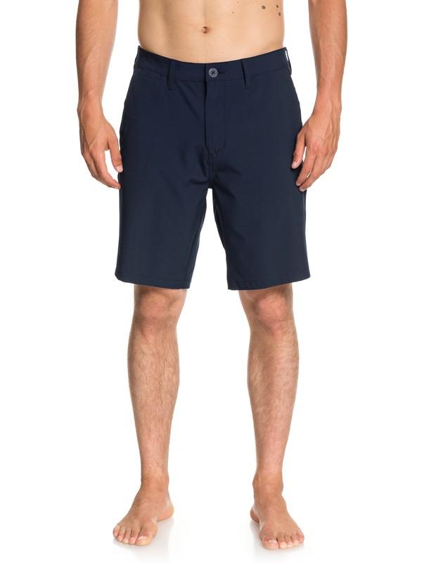 """0 Union 20"""" Amphibian Shorts Blue EQYWS03537 Quiksilver"""