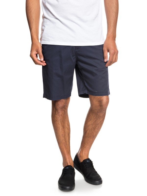 "0 Shorts tipo Chino Minor 20"" Azul EQYWS03541 Quiksilver"