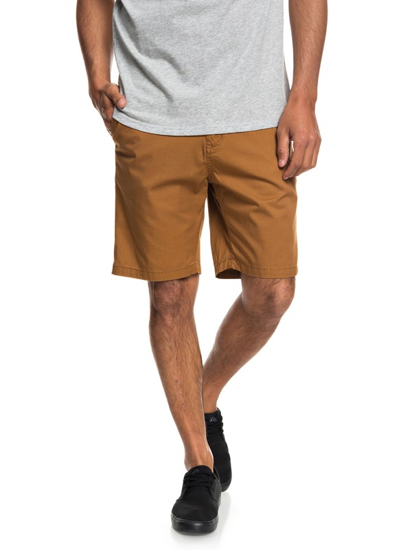 "0 Minor 20"" Chino Shorts Brown EQYWS03541 Quiksilver"