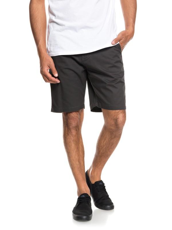 "0 Minor 20"" Chino Shorts Black EQYWS03541 Quiksilver"