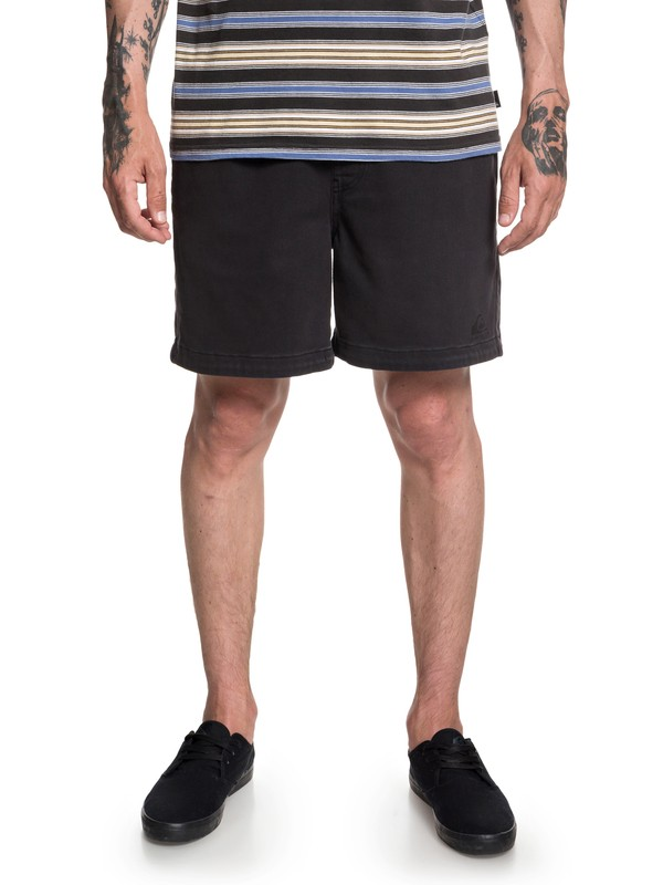 "0 Og Elasto 17"" Shorts Black EQYWS03560 Quiksilver"
