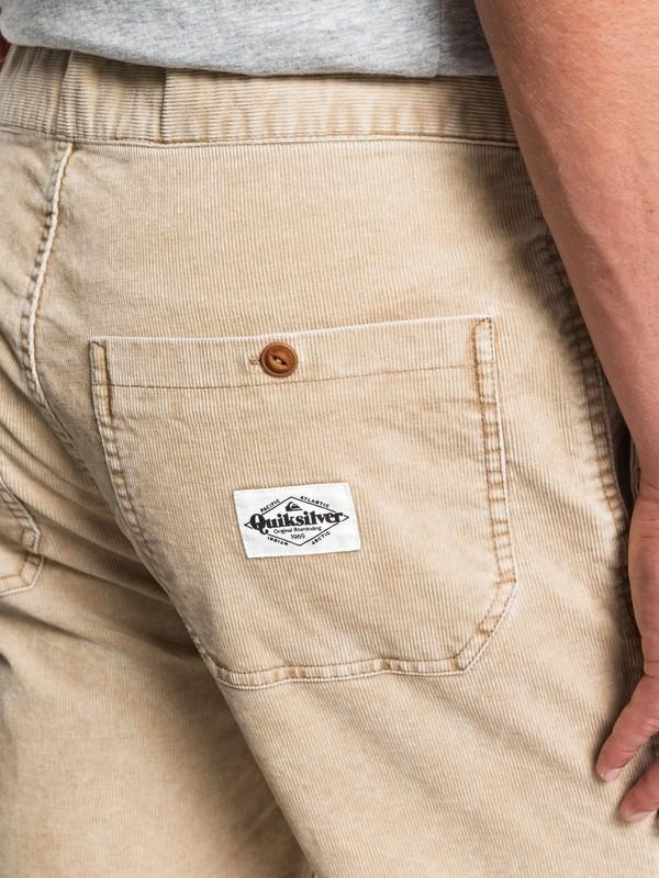 Finyl Vinyl - Corduroy Shorts for Men  EQYWS03566