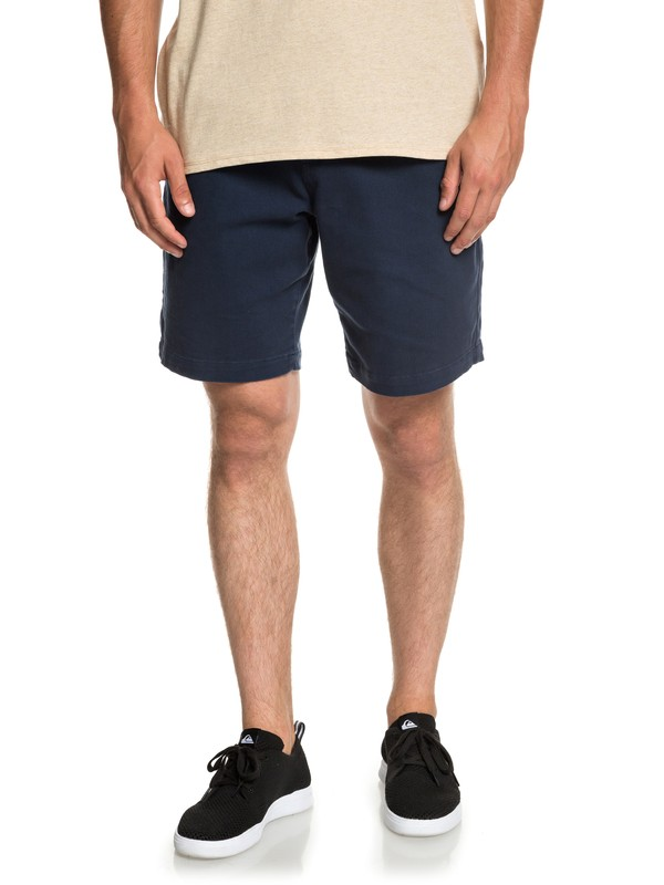 "0 Twist Of Shadows 19"" Shorts Blue EQYWS03567 Quiksilver"