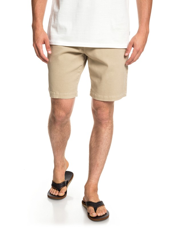"0 Twist Of Shadows 19"" - Shorts for Men Brown EQYWS03567 Quiksilver"