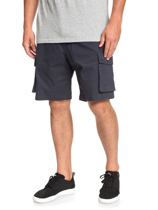 0 Free Mantle - Cargo Shorts for Men Blue EQYWS03569 Quiksilver