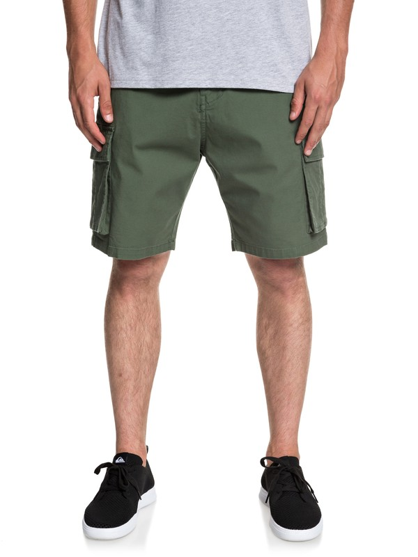 0 Free Mantle - Cargo Shorts for Men Brown EQYWS03569 Quiksilver