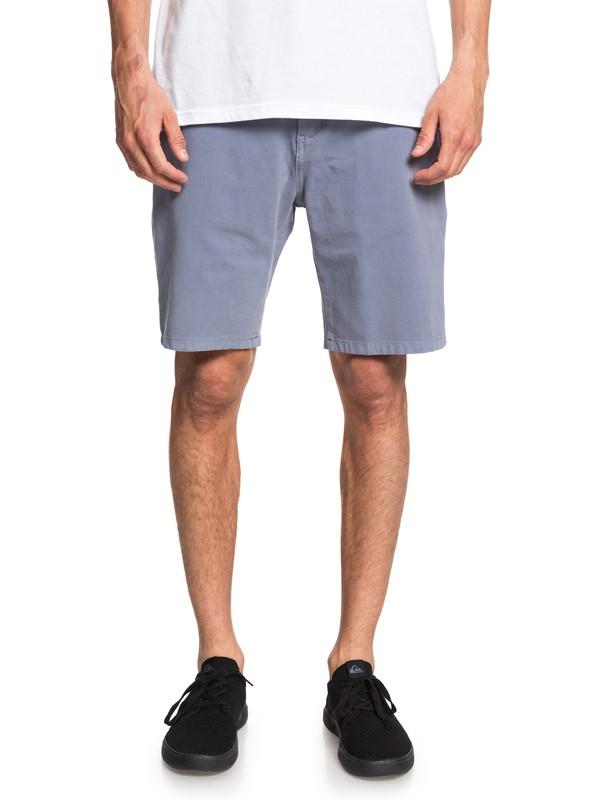 0 Krandy - Short Chino para Hombre Azul EQYWS03570 Quiksilver