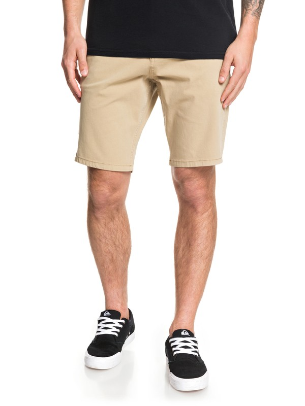 "0 Krandy 19"" Chino Shorts Brown EQYWS03571 Quiksilver"