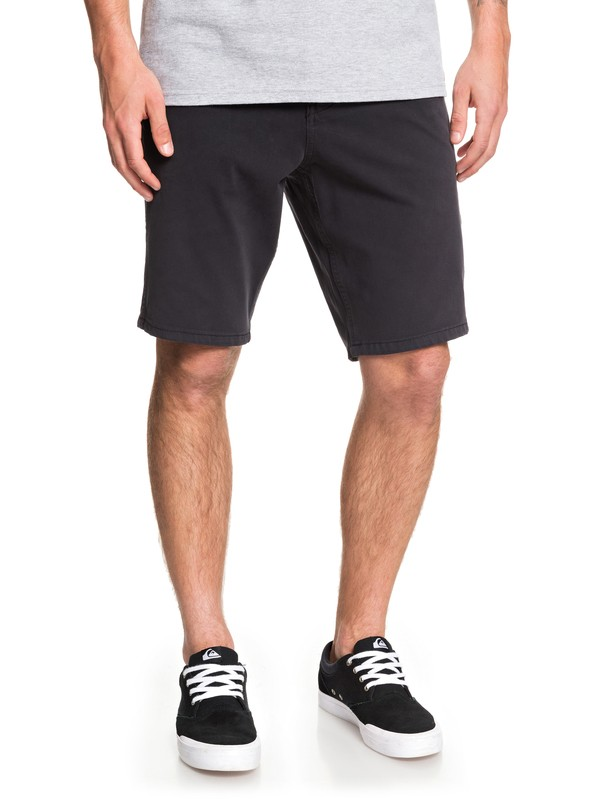 "0 Krandy 19"" Chino Shorts Black EQYWS03571 Quiksilver"