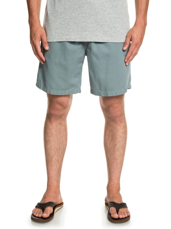 "0 Brainwashed 18"" - Beachshorts for Men Blue EQYWS03574 Quiksilver"