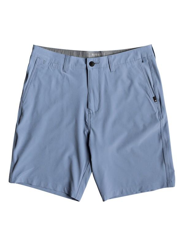 "0 Union Amphibian 20"" Amphibian Boardshorts Blue EQYWS03582 Quiksilver"
