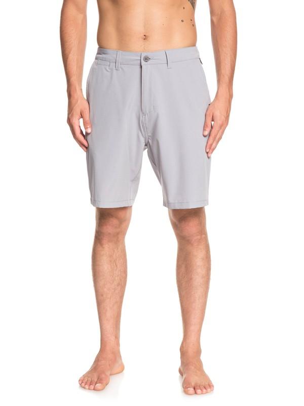"0 Union Amphibian 20"" Amphibian Boardshorts Grey EQYWS03582 Quiksilver"