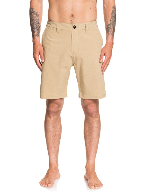 "0 Boardshorts Amphibian -Union Heather de 20"" Marrón EQYWS03583 Quiksilver"