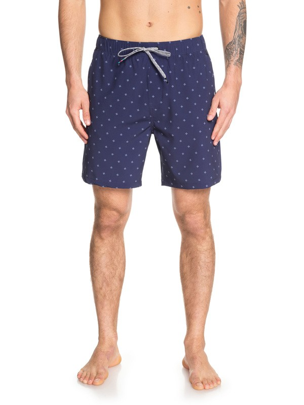 "0 Kona 18"" - Amphibian Board Shorts for Men Blue EQYWS03588 Quiksilver"