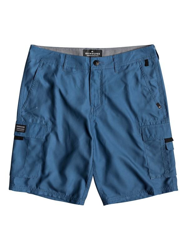 "0 Rogue Surfwash 20"" - Amphibian Board Shorts for Men Blue EQYWS03589 Quiksilver"