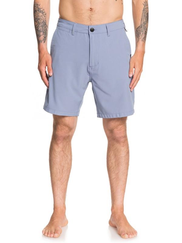 "0 Union Amphibian 19"" - Amphibian Board Shorts for Men Blue EQYWS03591 Quiksilver"