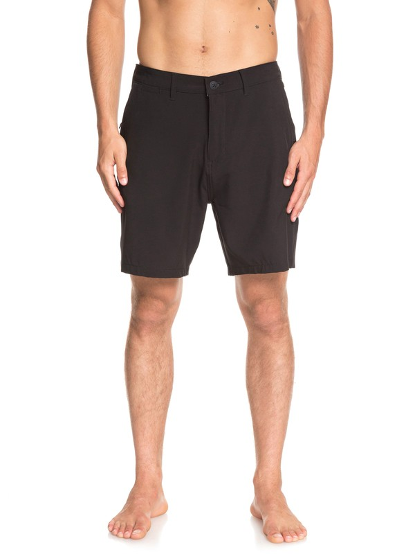 "0 Union Amphibian 19"" - Amphibian Board Shorts for Men Black EQYWS03591 Quiksilver"