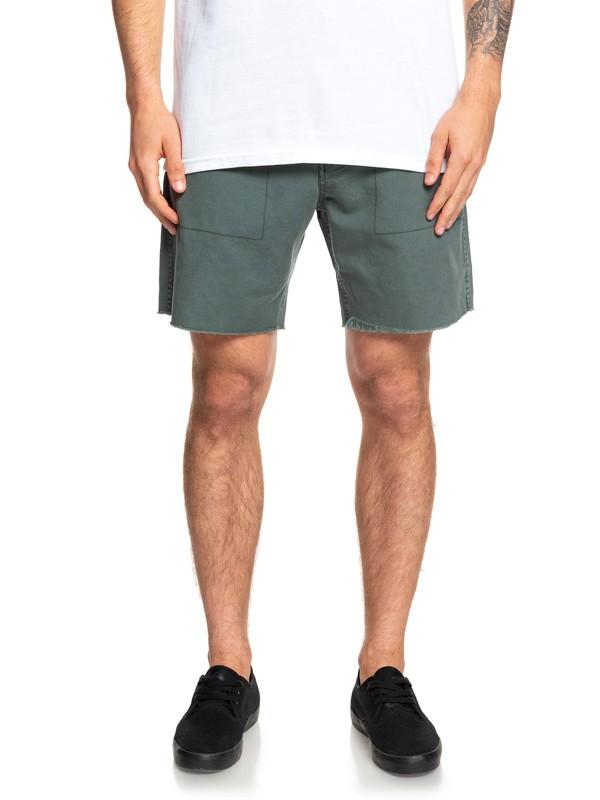 "0 Daintree Tropics 18"" Chino Shorts Green EQYWS03604 Quiksilver"