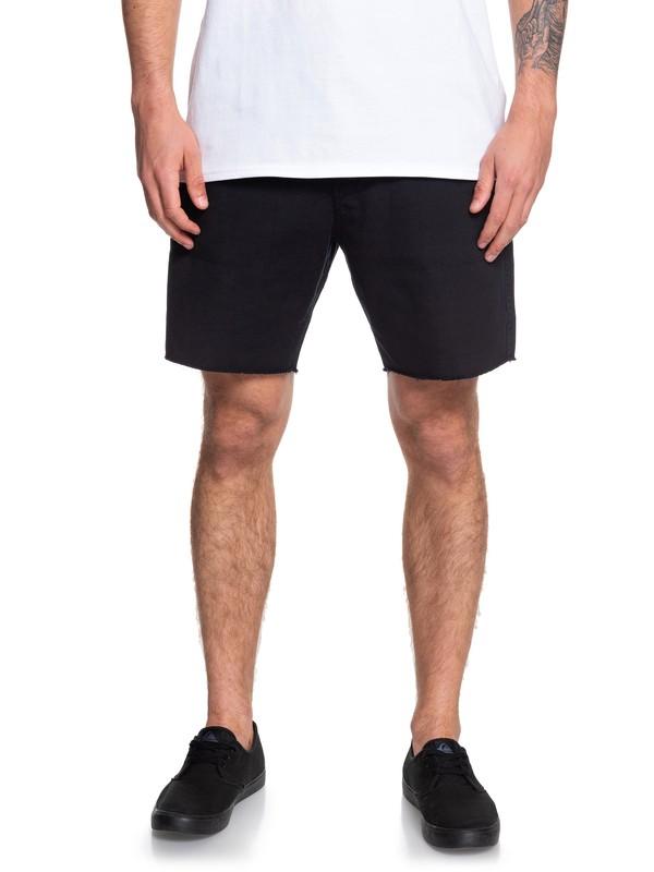 "0 Daintree Tropics 18"" Chino Shorts Black EQYWS03604 Quiksilver"