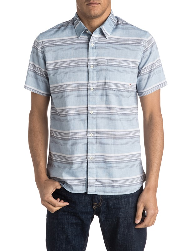 0 The Aventail Short Sleeve Shirt  EQYWT03377 Quiksilver