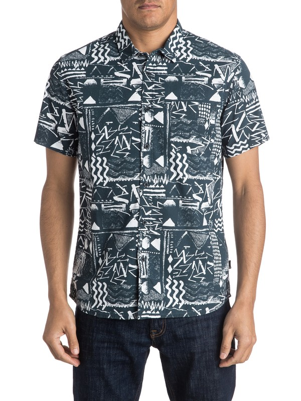 0 Labyrinth Short Sleeve Shirt  EQYWT03389 Quiksilver