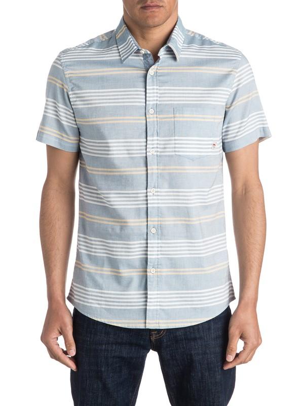 0 The Zip Tie Short Sleeve Shirt  EQYWT03418 Quiksilver