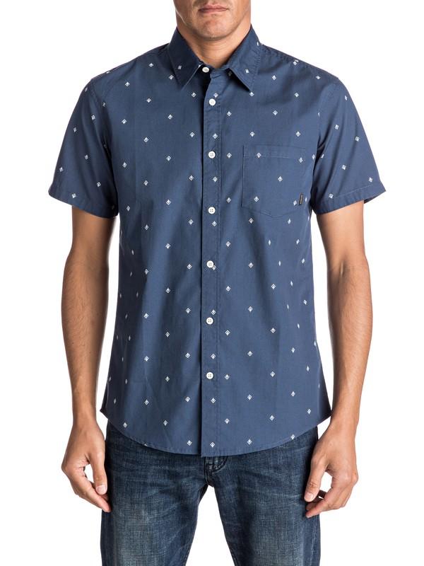 0 Everyday Mini Motif - Short Sleeve Shirt  EQYWT03501 Quiksilver