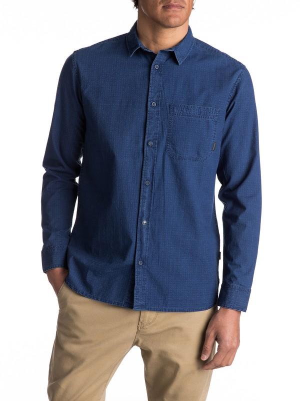 0 Indigo Rise Long Sleeve Shirt  EQYWT03558 Quiksilver